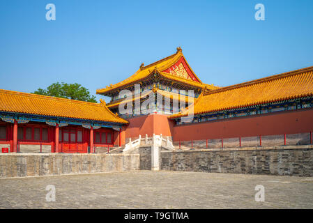 La Ciudad Prohibida en Beijing, capital de china