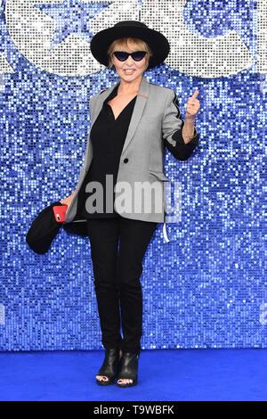 Londres, Reino Unido. 20 de mayo de 2019. Londres, Reino Unido. Mayo 20, 2019: Lulu llegando para la 'Rocketman' estreno británico en Leicester Square, Londres. Imagen: Steve SAV/Featureflash Crédito: Paul Smith/Alamy Live News Foto de stock