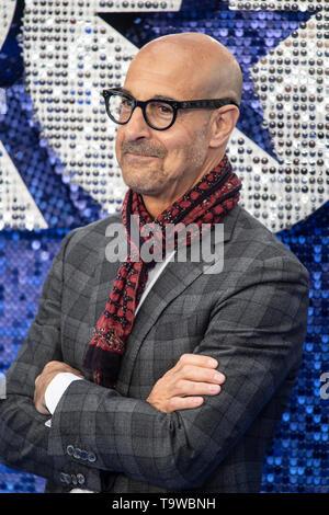 Londres, Reino Unido. 20 de mayo de 2019. 'Rocketman' estreno británico - VIP llegadas de crédito: Gary Mitchell, GMP Media/Alamy Live News Foto de stock