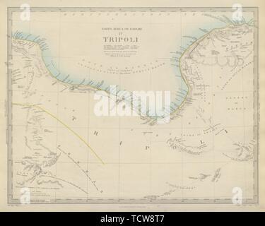 Golfo De Sirte Mapa.Libia El Golfo De Sidra Sirte Norte De Africa O De