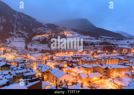Paisaje urbano en Andorra.