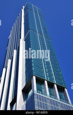 Chicago, Illinois, Estados Unidos. El Essex en el parque, un edificio residencial de 56 pisos en el sur de la Avenida Michigan en Chicago.