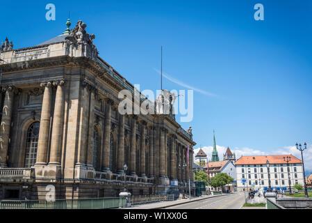 Museo de arte e historia, el museo más grande de la ciudad, Ginebra, Suiza.