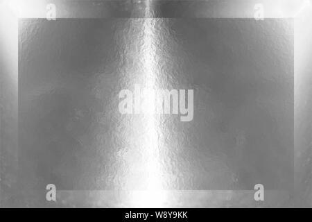 Superficie de metal pulido de color gris. Textura de metal. Resumen Antecedentes de acero. Copie el espacio. Banner web plantilla. Ilustración 3d