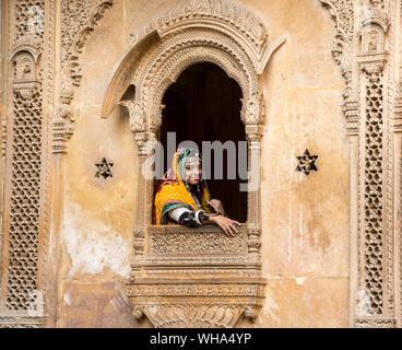 Patwa-ki-Haveli Jaisalmer, Rajasthan, India, Asia