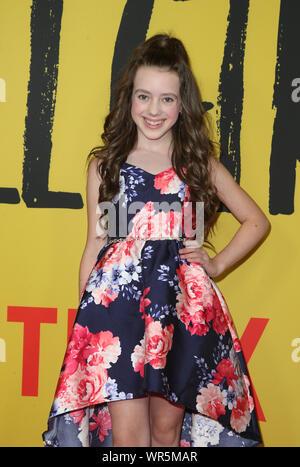 "Los Angeles, California, EEUU. 9 Sep, 2019. Symonne Harrison. Premiere de Netflix ""Tall Girl' celebrada en Netflix Home Theater. Crédito: FSadou/AdMedia/Newscom/Alamy Live News"