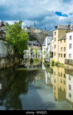 El casco antiguo de Luxemburgo, declarado Patrimonio de la Humanidad por la UNESCO, Luxemburgo, Europa