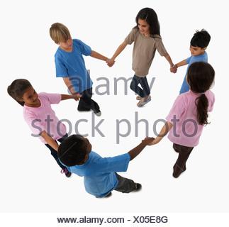 Niños jugando Foto de stock