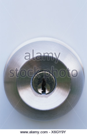 Bloqueo en el pomo de una puerta