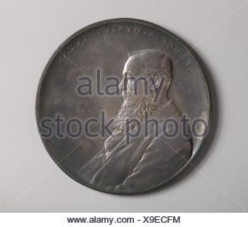 Aloysius George Lucas. Artista: Victor David Brenner (American (nacido en Kaunas, Lituania), Nueva York, 1871-1924); Fecha: 1899; Medio: bronce y plata;