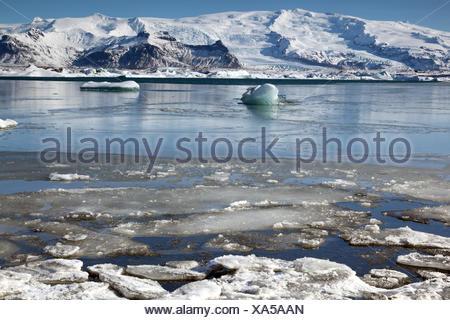 Geografía / viajes, Islandia, el este de Islandia, Jökulsarlon, laguna glacial, Additional-Rights-Clearance-Info-Not-Available