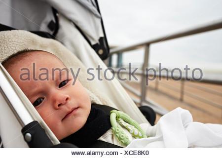 Baby Boy en el cochecito de niños