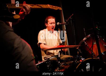 Copenhague, Danemark. Septembre 21, 2019. Le groupe britannique Penelope Isles effectue un concert live à l'Ideal Bar à Copenhague. (Photo crédit: Gonzales Photo - Christian Hjorth).