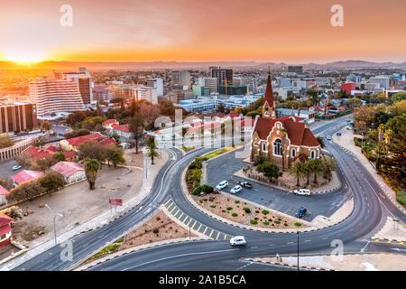 City skyline, Windhoek, Khomas, Namibie