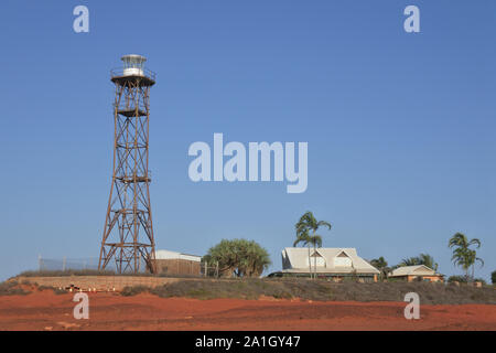 Gantheaume Point Lighthouse dans Broome Australie Occidentale Kimberley Banque D'Images