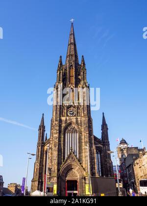 Le moyeu à l'Edinburgh Festival Centre sur le Royal Mile, dans la Vieille Ville Edimbourg en Ecosse Banque D'Images