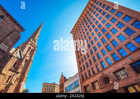 Prudential Guaranty Building dans le centre-ville de Buffalo