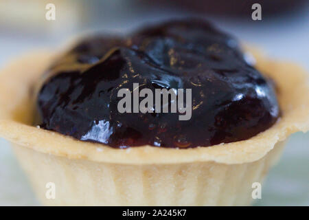 Tarte aux bleuets gâteau pour le thé Banque D'Images