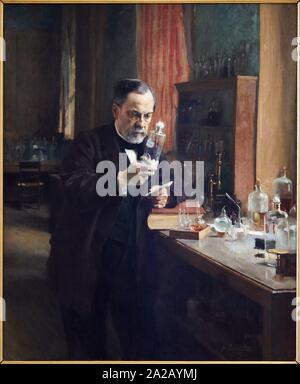 '''Louis Pasteur'', 1885, Albert Edelfelt, Musée d'Orsay, Paris, France, Europe Banque D'Images