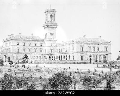 Négatif - Melbourne, Victoria, vers 1885, Government House