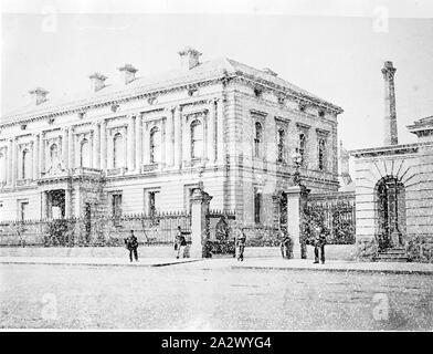 Négatif - Melbourne, Victoria, vers 1885, la Monnaie royale