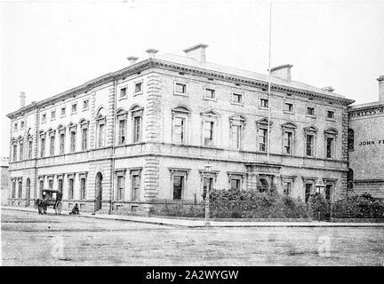 Négatif - Melbourne, Victoria, vers 1885, l'ancienne maison des marins