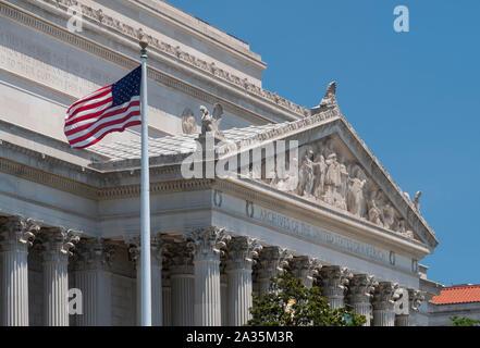 Archives nationales des États-Unis d'Amérique, Pennsylvania Avenue, Washington D.C.