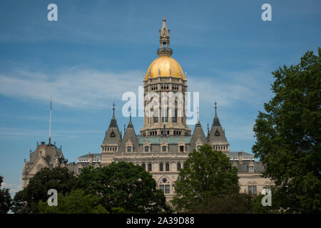 Bâtiment de la capitale de l'état du Connecticut Hartford