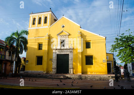 Santisima Trinidad Eglise dans Getsemani Banque D'Images