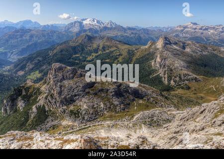 Lagazuoi, Cortina d'Ampezzo, Belluno, Vénétie, Italie, Europe Banque D'Images
