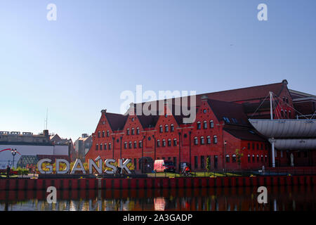L'Orchestre Philharmonique Baltique polonaise Frédéric Chopin - Impressions de Gdańsk (Danzig en allemand), une ville portuaire sur la côte baltique de la Pologne Banque D'Images