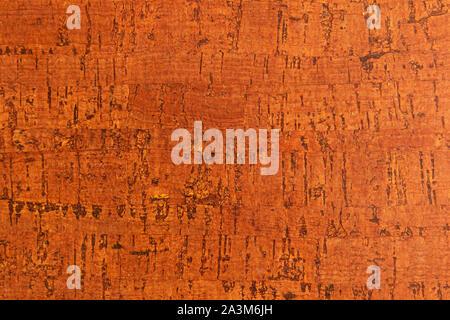 Close-up du liège Isolation acoustique pour planchers et murs en retard Banque D'Images