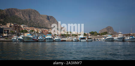 Bagnera en Sicile 7 Port Banque D'Images
