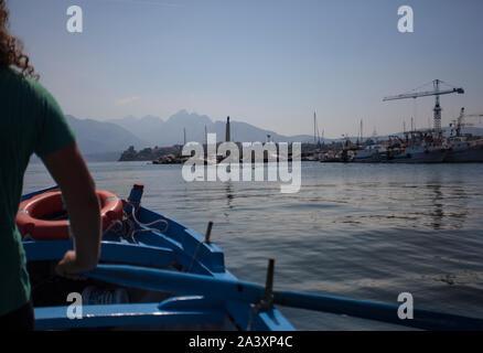 Bagnera en Sicile 4 Port Banque D'Images