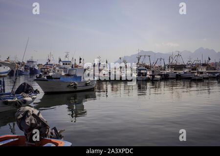 Bagnera en Sicile 2 Port Banque D'Images
