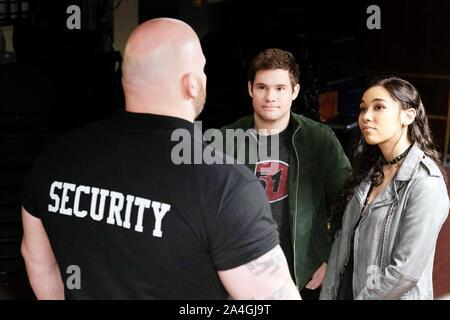 JEXI, de gauche: Adam Devine, Alexandra Shipp, 2019. ph: David Moir / © Lionsgate / courtesy Everett Collection