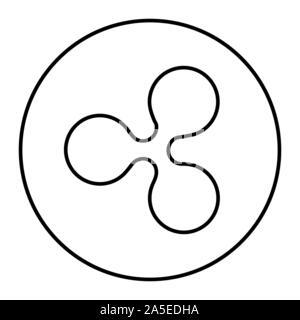 L'icône d'internet pour de l'argent. Cryptocurrency symbole pour l'utilisation dans des projets web ou applications mobiles. Vecteur. Banque D'Images