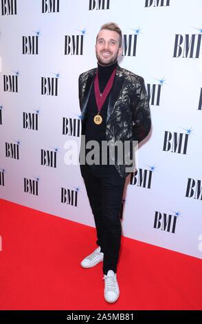 John Ryan participant à la BMI London Awards 2019 à l'Hôtel Savoy à Londres. PA Photo. Photo date: lundi 21 octobre, 2019. Crédit photo doit se lire: Isabel Infantes/PA Wire