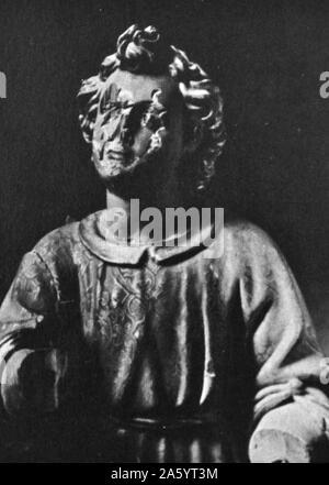 La profanation de reliques et d'art religieux républicain était la conséquence d'actions anti-catholiques contre les monastères et les églises de toute l'Espagne pendant la guerre civile 1936 Banque D'Images