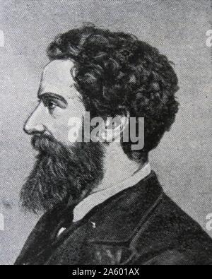 Edward Robert Lytton Bulwer-Lytton, 1er comte de Lytton. (8 novembre 1831 - 24 novembre 1891) Homme d'État et poète anglais. Il a servi comme vice-roi de l'Inde entre 1876 et 1880