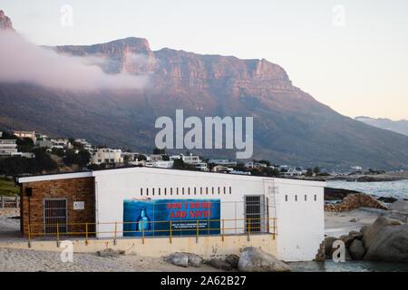 La plage de Camps Bay Cape Town Afrique du Sud Banque D'Images