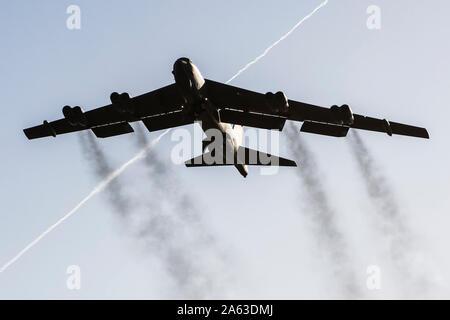 Boeing B-52 Stratofortress pendant deplyment à RAF Fairford