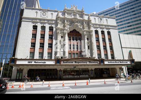 Théâtre de la maison de l'Indiana indiana Repertory Theatre indianapolis indiana USA
