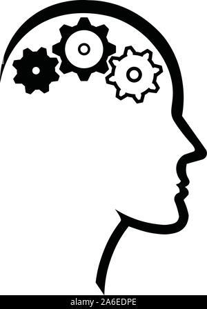 L'Intelligence Artificielle de l'image conceptuelle Banque D'Images
