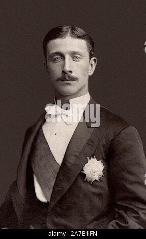 Louis-napoléon Bonaparte (1856-1879), Prince Impérial, unique enfant de Napoléon III de France et son impératrice Eugénie. Circa 1878 Banque D'Images