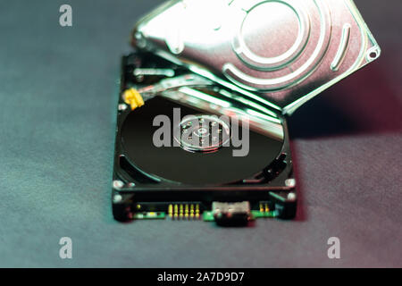Disque dur Disque dur de réparation ouvert mémoire données supprimées et fixer
