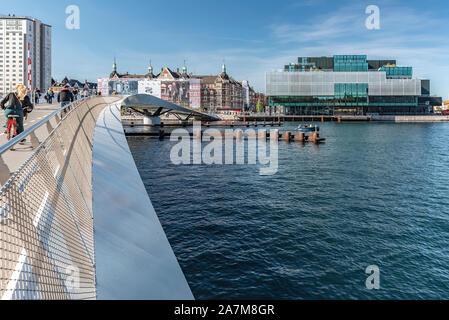 Copenhague, Danemark - septembre 21, 2019: situé sur le port de Copenhague, avant BLOX fait partie de la ville, circuit culturel des lieux qui ont un r