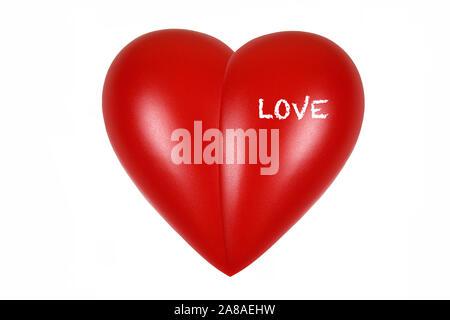 Rotes Herz, orgue, Gesundheit, Körperteil, l'amour, Banque D'Images