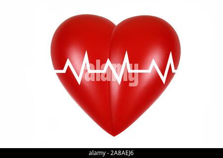 Rotes Herz, orgue, Gesundheit, Körperteil, l'alimentation, Banque D'Images