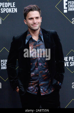 Santa Monica, USA. 11Th Nov, 2019. Tom Schwartz arrive pour la 45e année ! People's Choice Awards au Barker Hangar à Santa Monica, Californie le dimanche, Novembre 10, 2019. Photo par Jim Ruymen/UPI UPI : Crédit/Alamy Live News Banque D'Images